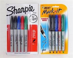 Sharpie vs Bic ... Sharpie Markers