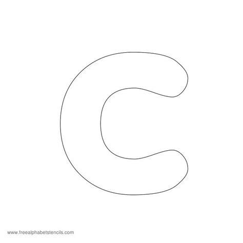 preschool alphabet stencils freealphabetstencils 427 | preschool stencil c