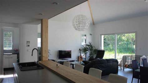 atelier cuisine clermont ferrand maison contemporaine avec mezzanine et charpente apparente à toulouse une réalisation de