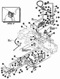 Mower Suspension Assembly Diagram  U0026 Parts List For Model