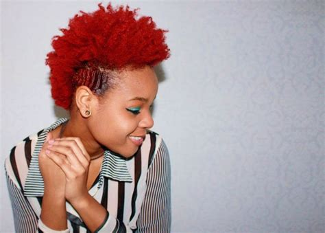 A Guide To Dying Curly Natural Hair Red Curls Understood