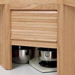 hardwood appliance garage  tambour door kit corner