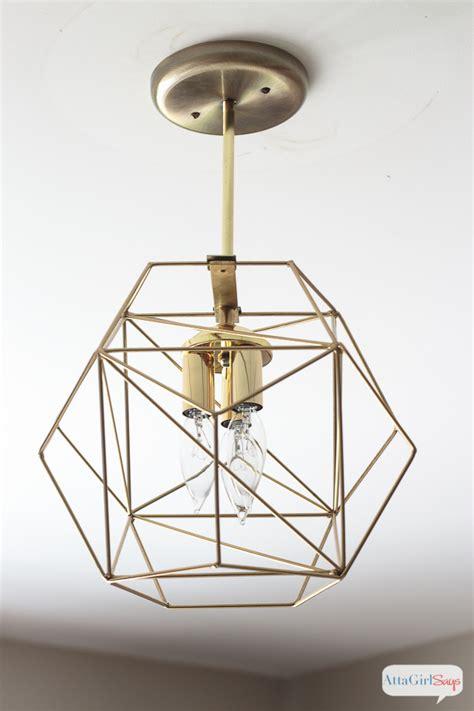 brass globe pendant light diy geometric globe pendant light atta says
