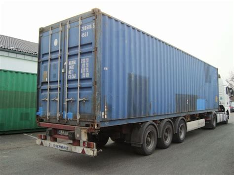 12 Fuß Container by 40 Fu 223 High Cube 220 Berseecontainer Lagercontainer