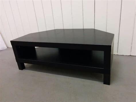 ikea black tv cabinet ikea black corner tv stand bench good condition in