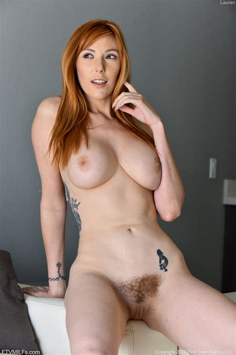 Hot Redhead With Nice Boobs And Tattoos Pleasures Her
