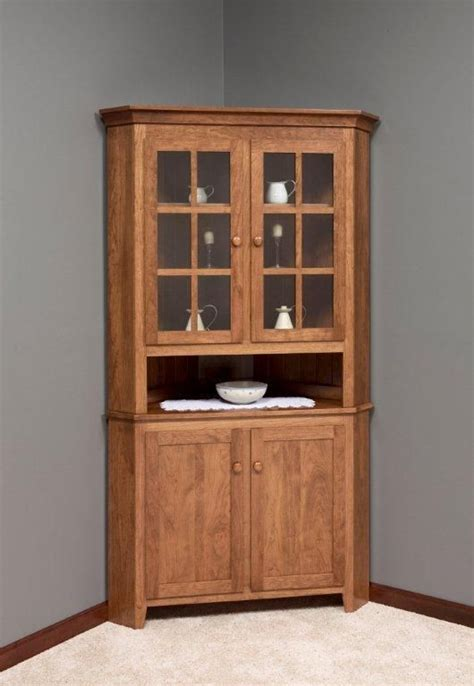 china cabinet in kitchen 82 best images about amish corner hutches on 5395