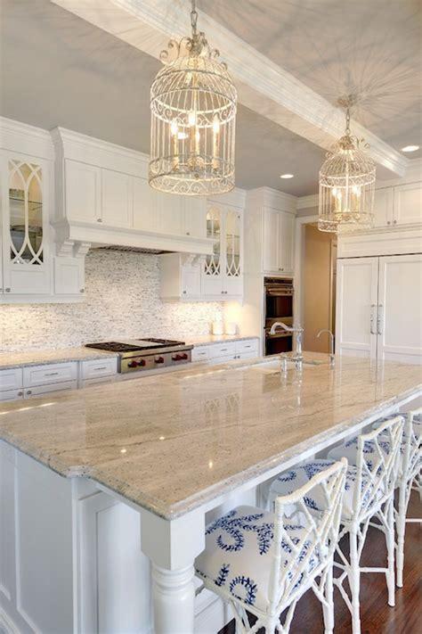 gray and white granite countertops transitional