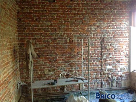 renover mur en interieur r 233 novation mur int 233 rieur en brique friable