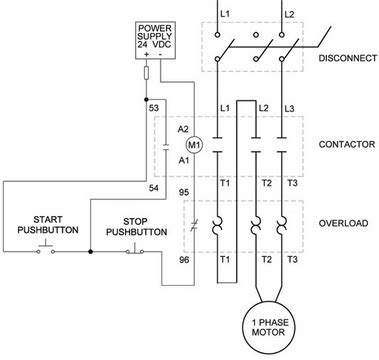 Single Phase Motor Wiring Pdf by 1 Vs 3 Phase Contactors Contactors Overloads Product