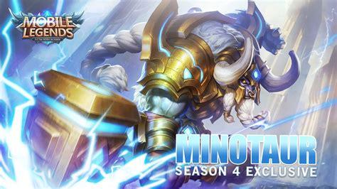 Season 4 Exclusive Minotaur Taurus Skin