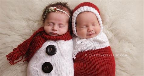 newborn babies        christmas