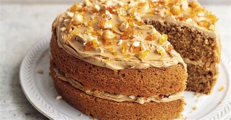 Coffee and walnuts go particularly well together, but you can you don't have to be a coffee fan to like coffee and walnut cake, especially when it's a mary berry recipe! Mary Berry Coffee Hazelnut Praline Cake Recipe | BBC2 Simple Comforts