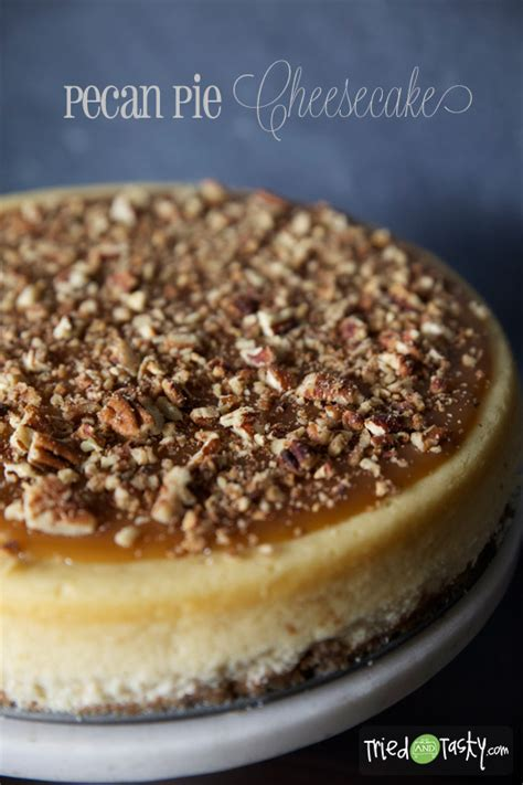 Gingersnap Pumpkin Cheesecake by Pecan Pie Cheesecake Tried And Tasty