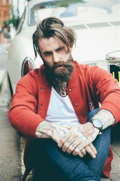 growing  maintaining  perfect beard