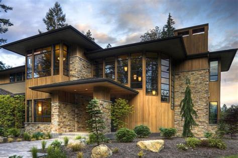 contemporary craftsman house plans modern style house plan 4 beds 4 5 baths 4750 sq ft plan