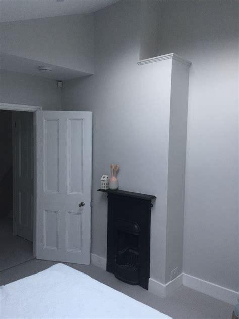 bedroom farrow  ball ammonite paint  room hallway