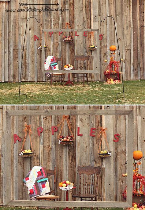 fall photo booth backdrop ideas handmade hilarity