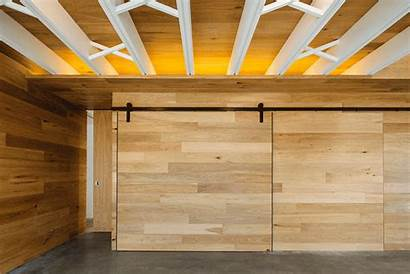 Wood Glass Concrete Invermay Architects Maloney Hidden