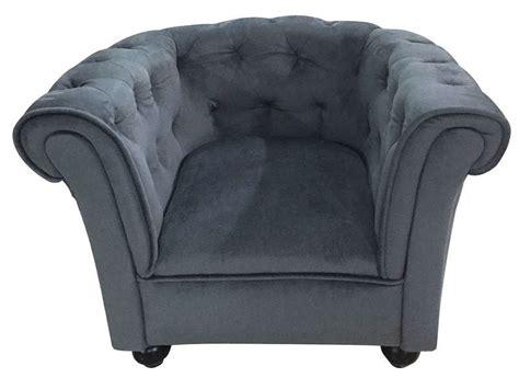 fauteuil enfant chesty coloris gris vente de petit