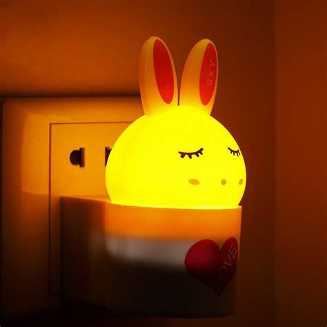 small wall l plug in led small night light plug in light control sensor light