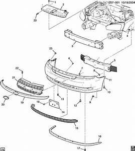 Chevrolet Malibu Deflector  Bumper  Fascia  Deflector  Frt Bpr Fascia Lwr