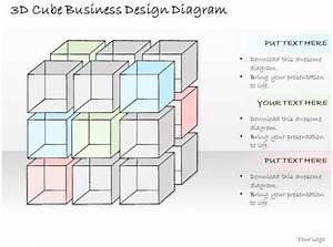 0714 Business Ppt Diagram 3d Cube Business Design Diagram