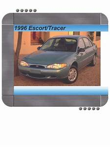 Ford Escort  Mercury Tracer 1996 Factory Service  U0026 Shop