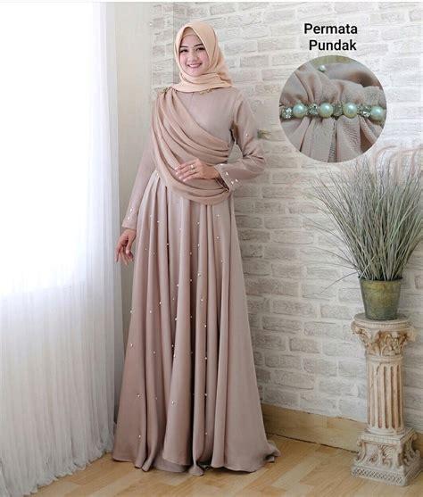 jual pakaian pesta kondangan wanita setelan baju muslim