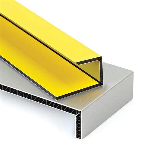 ams   pc  groove  double edge folding aluminum composite material acm panels
