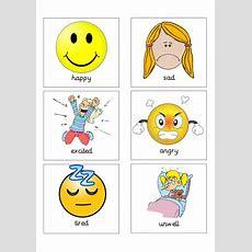 Feelings Flash Cards By Twinklestar68  Teaching Resources