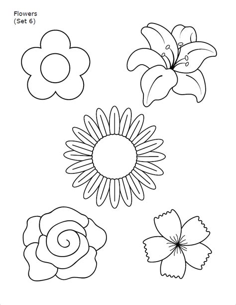 flower template pdf 10 flower templates free pdf word designs creative template