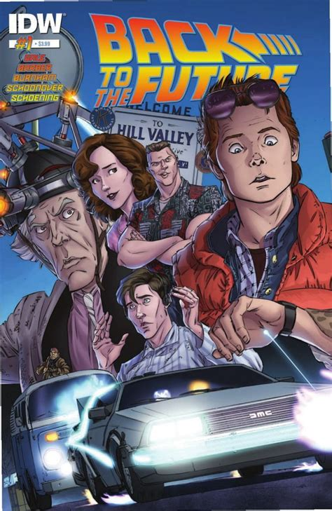 Preview: Back To The Future #1 (IDW)