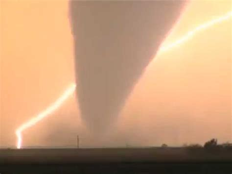 Tornadoes In Oklahoma And Kansas