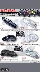 Yamaha Aerox 155    Nvx 155 Body Accessories
