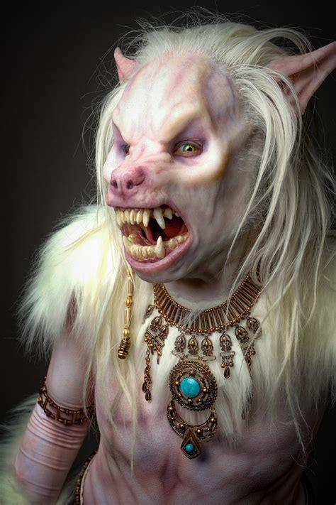werewolf costume couldve walked    set