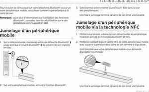 Notice Barre De Son Bose Soundtouch 300 Noire