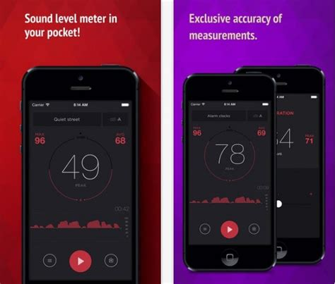 iphone decibel meter fonometro per iphone con db meter iphone italia