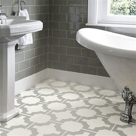 5 of the best patterned bathroom floor tiles your home
