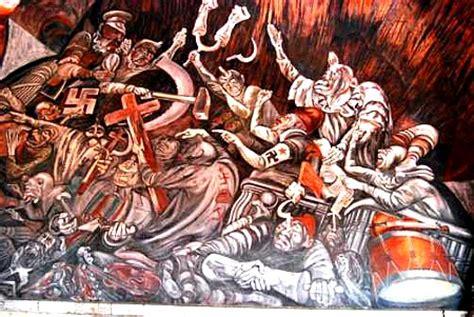 Jose Clemente Orozco Murals by Cabanas Cultural Institute Guadalajara Jalisco Mexico Hospicio