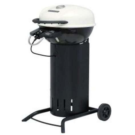 brinkmann 24 in 1750 watt electric patio grill in cream