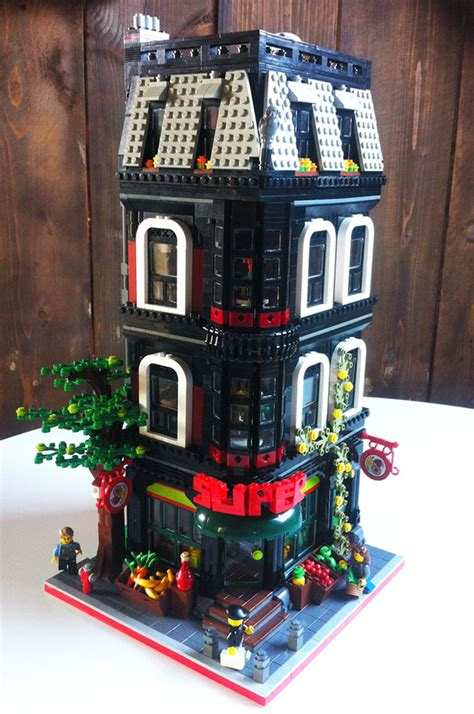moc grocery store lego town eurobricks forums