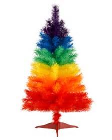 color burst mini rainbow tree treetopia
