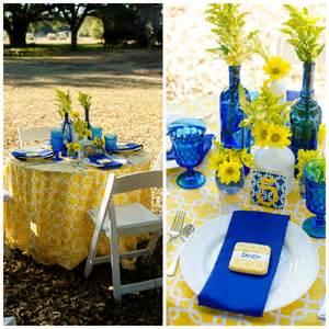 chair rentals jacksonville fl cobalt blue and yellow tablescape pensacola wedding