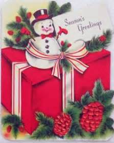 Cards Vintage Christmas Gifts on Pinterest