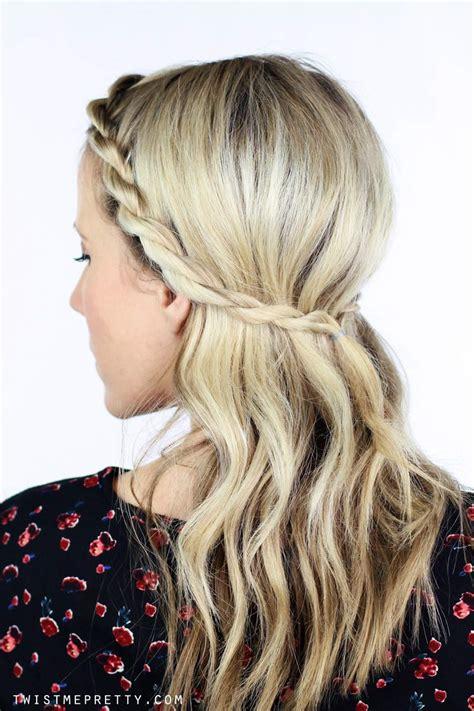 Twisting Hairstyles by 1 Twisted Braid 5 Hairstyles Twist Me Pretty
