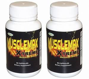 Musclemax Xtreme BODY BUILDING SUPPLEMENT gain muscle ...