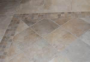 diagonal tile floor