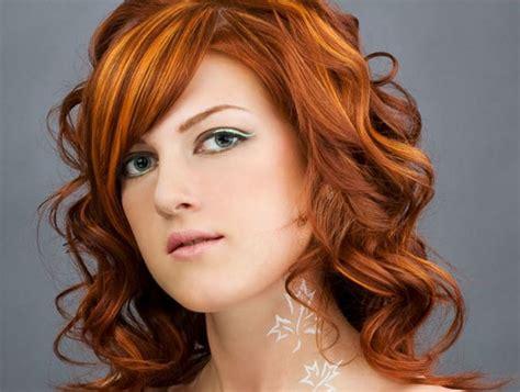 Orange Hair Dye Bright Light Dark On Dark Hair Red