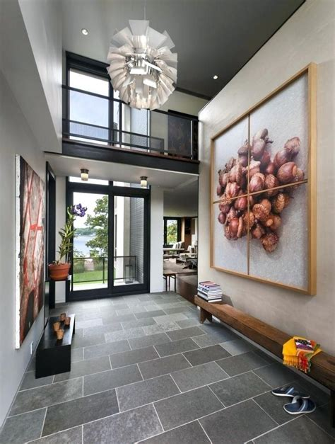 contemporary foyer design ideas gallery  house entrance